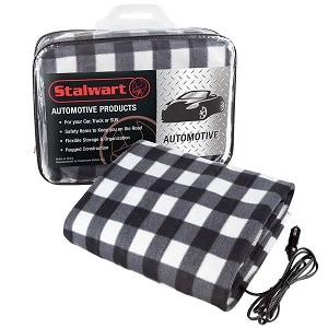 Electric Heater Car Blanket Heated Travel Throw For And Rv 12 Volt By Stalwart